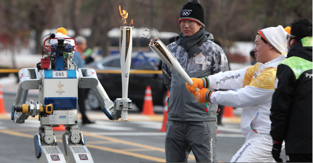 Robots Ready to Ski, Paint, and Clean at South Korea's 2018 Winter Olympics